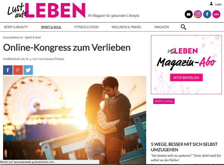 2Macha im Onlinemagazin Lust aufs Leben