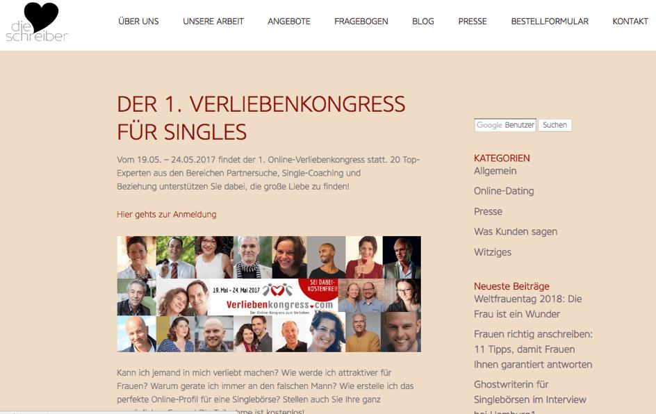 Verliebenkongress von 2Macha auf herzschreiber.de