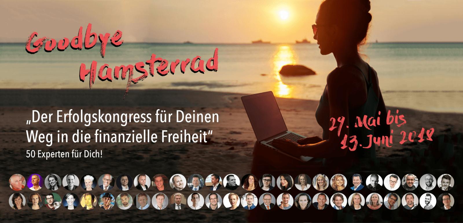 Empfehlung Online Kongresse und Events-Juni 2018-Goodbye Hamsterrad