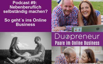 So geht´s ins Online Business – Folge 9 vom Duopreneur-Podcast